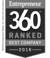 Entrepreneur 360 Ranked Best Company